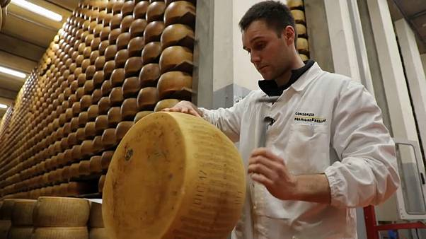 The Italian cheese that is so valuable it's stored in a bank