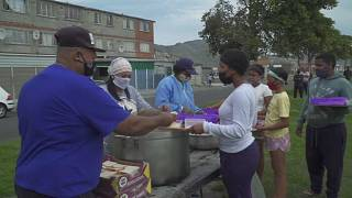 South Africa: Feeding the homeless affected by Covid