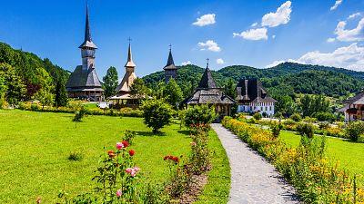 The  unique architectural style of Maramureș in Romania
