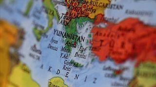 Doğu Akdeniz haritası, AA Arşiv