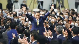 Japonya'da iktidardaki LDP'nin genel başkanlığına seçilen Suga Yoşihide