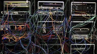 Серверы на конференции по кибербезопасности в Лилле, 2017