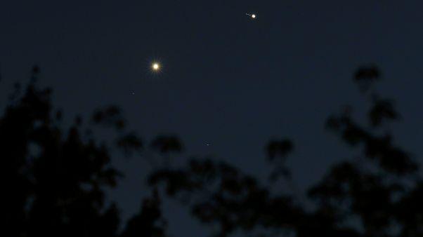 A Vénusz és a Jupiter együttállása 2015-ben