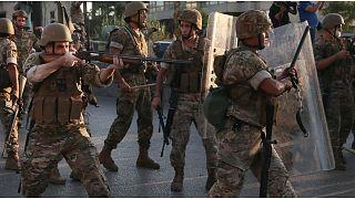 انتشار كثيف للجيش اللبناني في بيروت