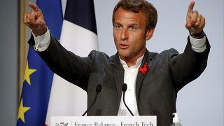 Emmanuel Macron, Elysée, 14 septembre 2020.