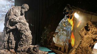 Инсталляция в Эрмитаже