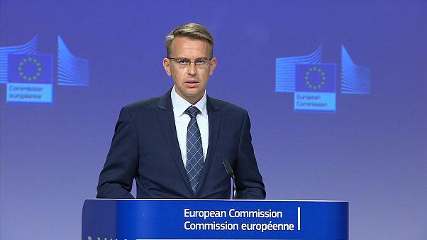 Avrupa Birliği (AB) Komisyonu Sözcüsü Peter Stano
