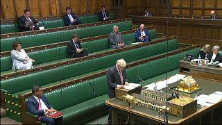 Brexit-Streit in London - Premierminister Boris Johnson unter Druck