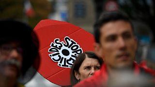 """Mouvement 'Nous voulons des coquelicots"""" le 14 septembre 2020"""
