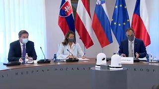 """a """"Central 5"""" egyeztetése Szlovéniában - Magyarország ezúttal nem vett részt"""