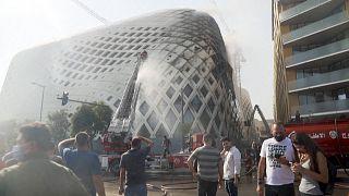 Megint tűz pusztított a bejrúti kikötő közelében