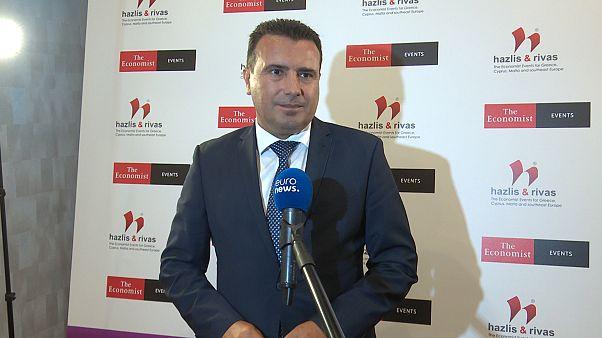 Ο πρωθυπουργός της Β. Μακεδονίας, Ζ. Ζάεφ