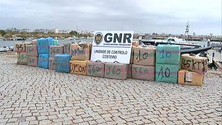 Autoridades algarvias apreenderam cerca de 2.500 quilos de haxixe no rio Guadiana