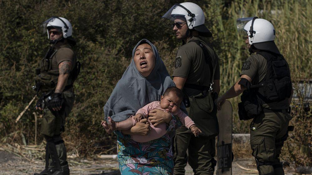 Almanya, Yunanistan'daki Moria kampı yangını sonrası bin 500 mülteciyi kabul ediyor