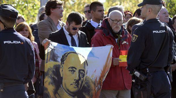 Franco-Anhänger im Oktober 2019