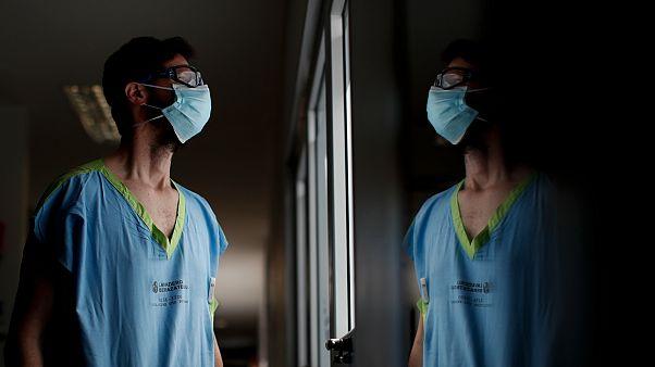 Marcelo Moretti , médecin en soins intensifs à Buenos Aires, le 15 septembre 2020
