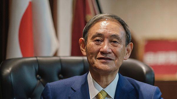 Szuga Josihide, az új japán kormányfő