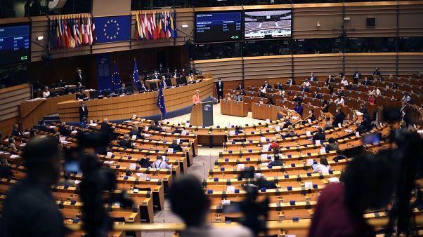 Il primo discorso sullo Stato dell'Unione di Ursula von der Leyen al parlamento europeo