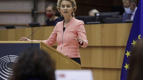 Etat de l'Union : Von der Leyen lance les batailles de l'UE face à la crise