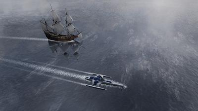 Animation showing the Mayflower Autonomous Ship (MAS)