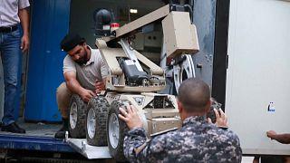Des robots pour lutter contre le fléau des mines antipersonnel en Libye