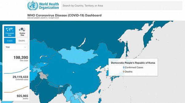 Aucune contamination en Corée du nord, pays frontalier avec la Chine ?