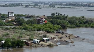Thousands displaced in Sudan as it battles record floods
