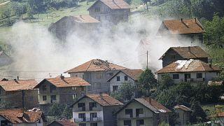 بوسنی در زمان جنگ دهه ۱۹۹۰ میلادی