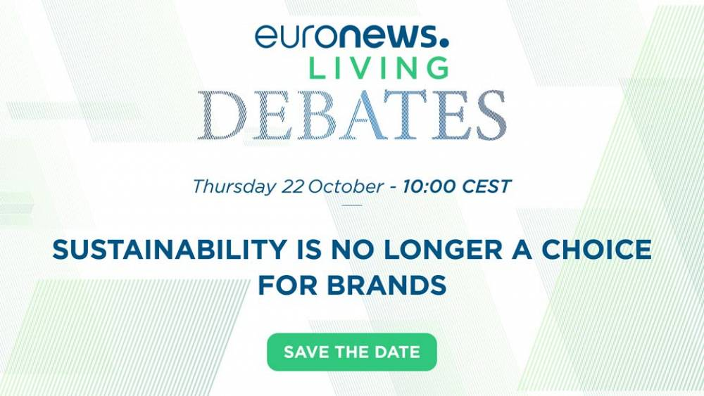 Euronews Living Debates: How brands are using innovation to be more eco