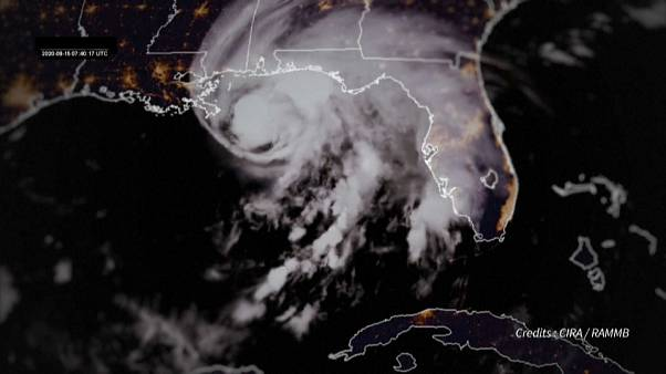 """На юг США обрушился ураган """"Салли"""""""
