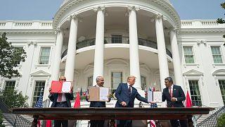 Az Ábrahám Egyezmény aláírása szeptember 15-én