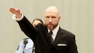 Norveç'te 2011'de 77 kişiyi öldüren Anders Behring Breivik / 2017