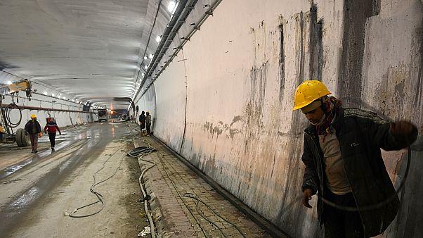 الهند تستعد لافتتاح أطول نفق مرتفع في العالم يصلها بحدود الصين
