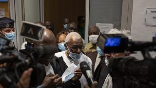 Lamine Diack à l'issue de son procès à Paris, le 16/09/2020