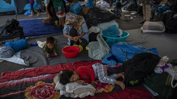 El ACNUR pide a Europa que acoja a más refugiados de Lesbos