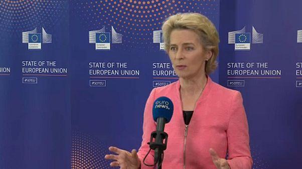 """Ursula von der Leyen: """"Queremos salir más fuertes de la crisis"""""""