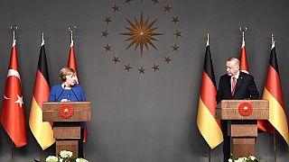 Erdoğan ile Merkel basın toplantısı (ARŞİV)