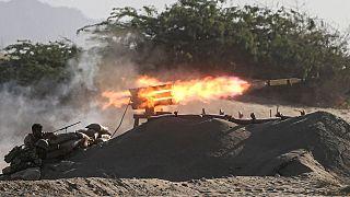 رزمایش ارتش ایران در تنگه هرمز