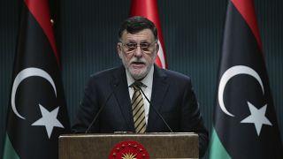 Ο επικεφαλής της διεθνώς αναγνωρισμένης κυβέρνησης της Λιβύης Φαγιέζ αλ Σάρατζ