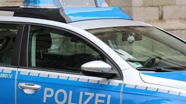 Coche de policía alemana.