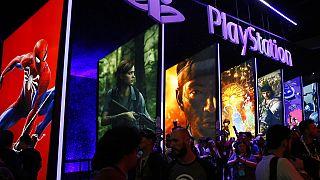 Το περίπτερο του Playstation στην 24th Electronic Entertainment Expo E3