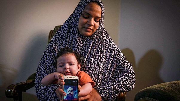 سعاد محمد، زوجة المهاجر السوري شادي رمضان الذي اختفى في البحر أثناء عبوره بطريقة غير مشروعة إلى قبرص