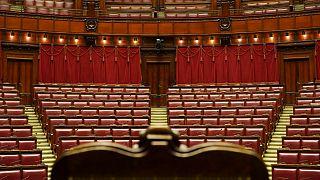 La cámara baja del Parlamento italiano