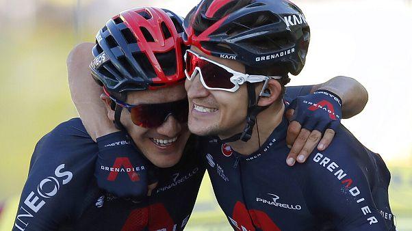 Tour de France: victoire de Kwiatkowski, doublé pour l'équipe Ineos