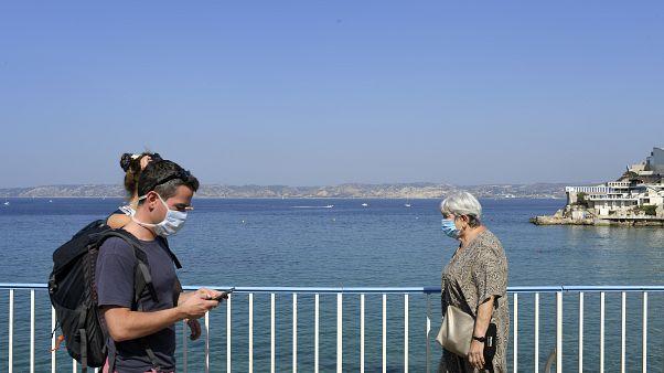 Menschen in Marseille