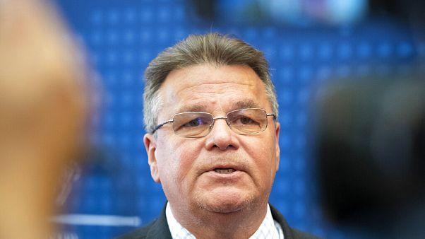 Lithuania's foreign minister Linas Linkevičius