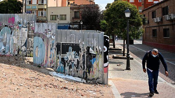 Fotografía del Barrio de Vallecas, en Madrid