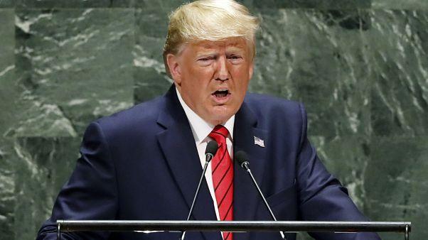 خطاب الرئيس الأمريكي دونالد ترامب أمام الدورة 74 للجمعية العامة للأمم المتحدة