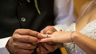 Bir çiftin düğünü