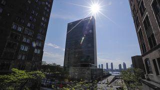 Здание на Ист-Ривер, где размещается штаб-квартира ООН (архив)